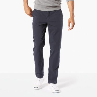 Downtime Khaki With Smart 360 Flex Slim Tapered Fit