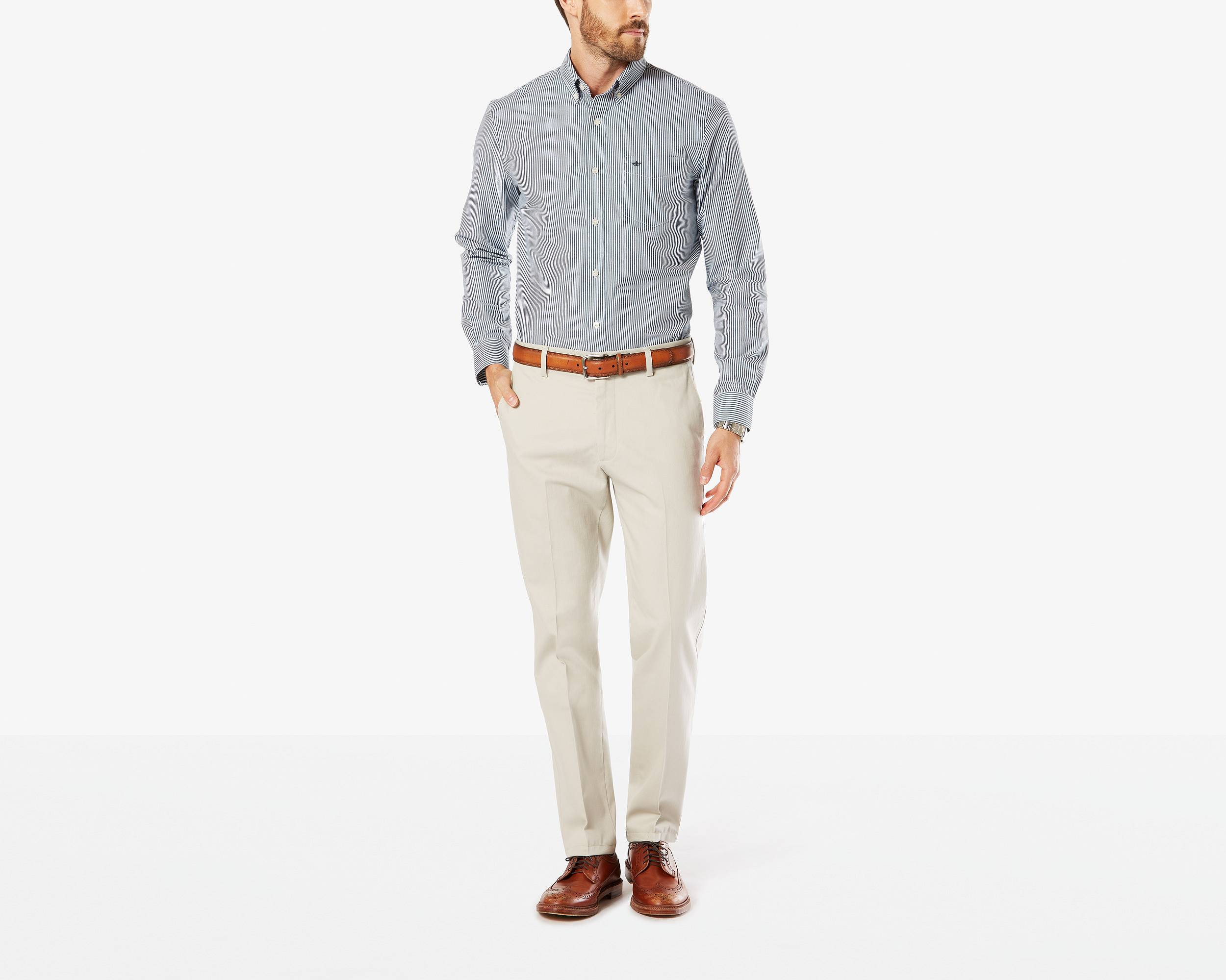 Signature Stretch Khaki, Slim Fit | CLOUD | Dockers® United States ...