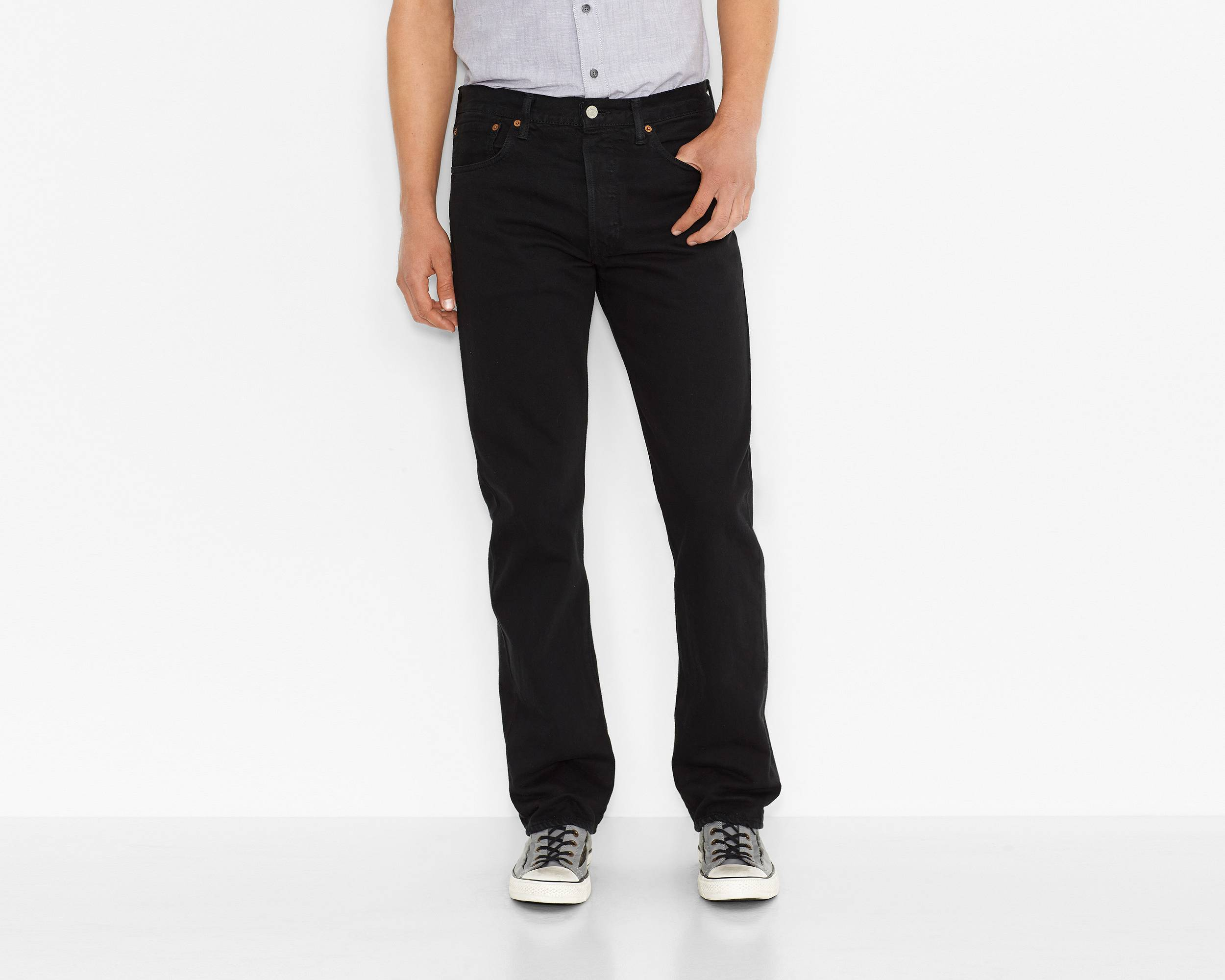 501® Original Fit Jeans | Black |Levi's® Great Britain (UK)