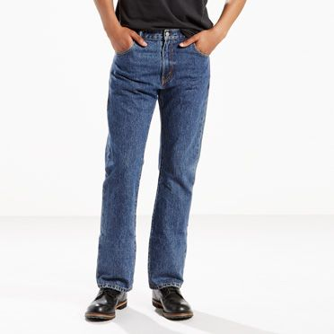 Levi's® bootcut jeans fit nicely over leather boots and are available in different fits and washes. Browse all men's bootcut jeans at Levi's®.