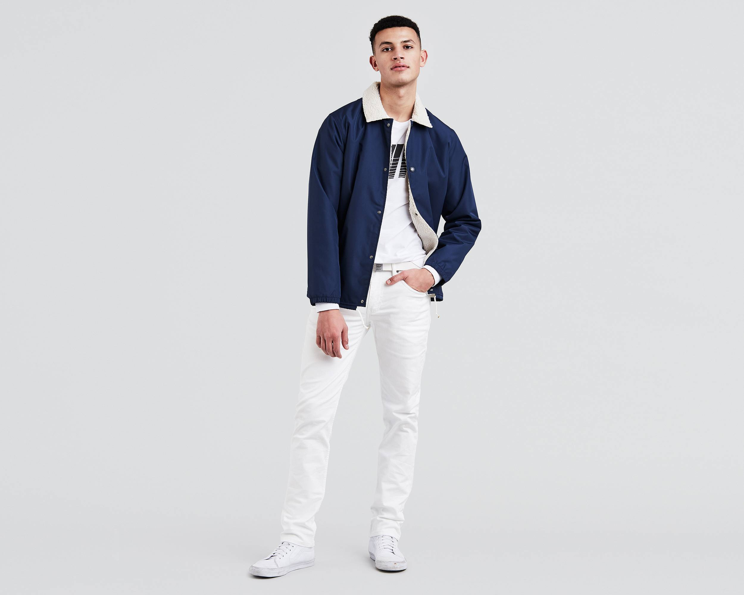 511™ Slim Fit Stretch Jeans   White  Levi&39s® United States (US)