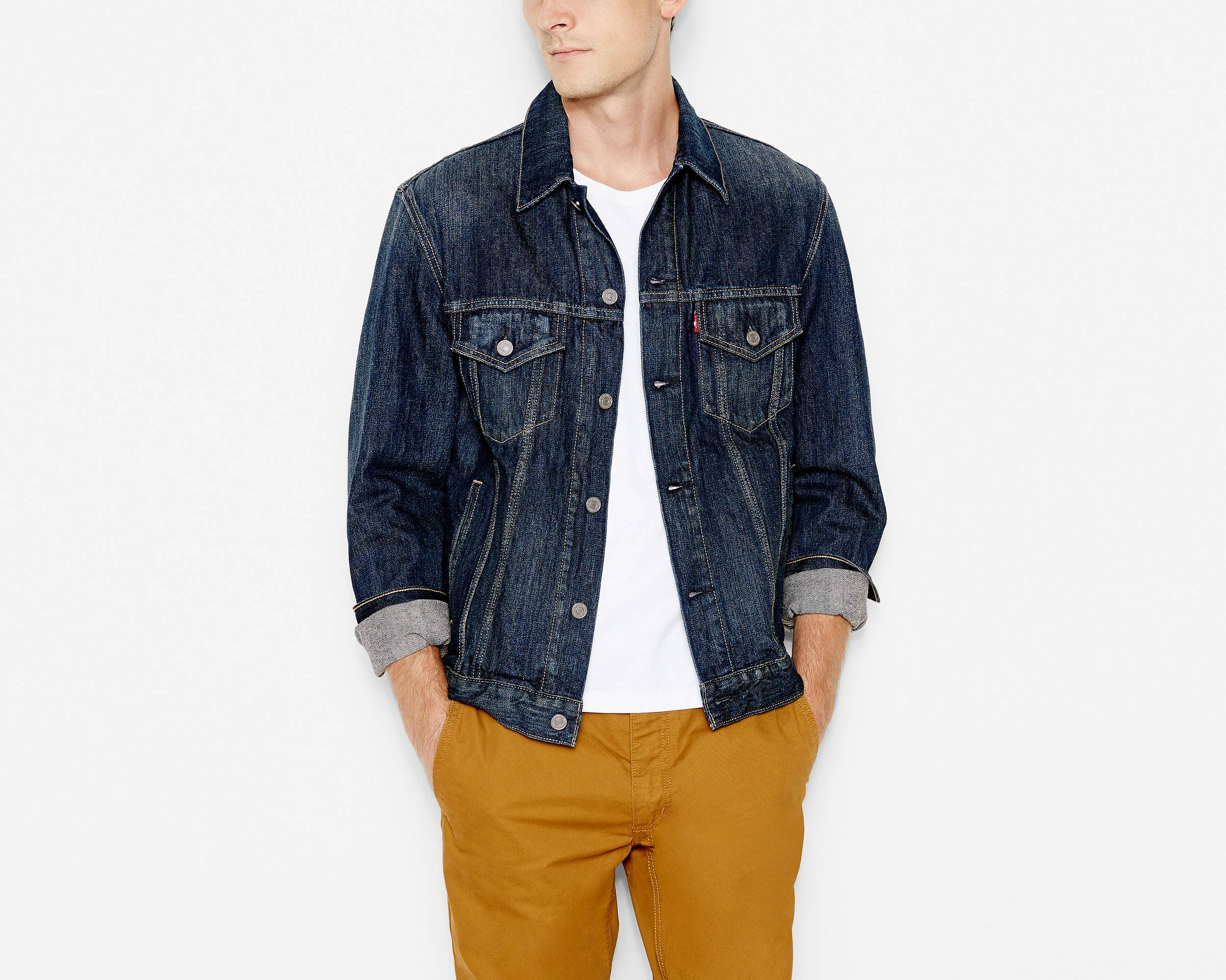 Jean & Denim Jackets Today's fashion statement: the denim jacket. There's no denying that this is the season's hottest piece so regardless of your style, you have to make sure you add a proper cool jean jacket to your closet.