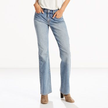 Slim bootcut jeans ladies