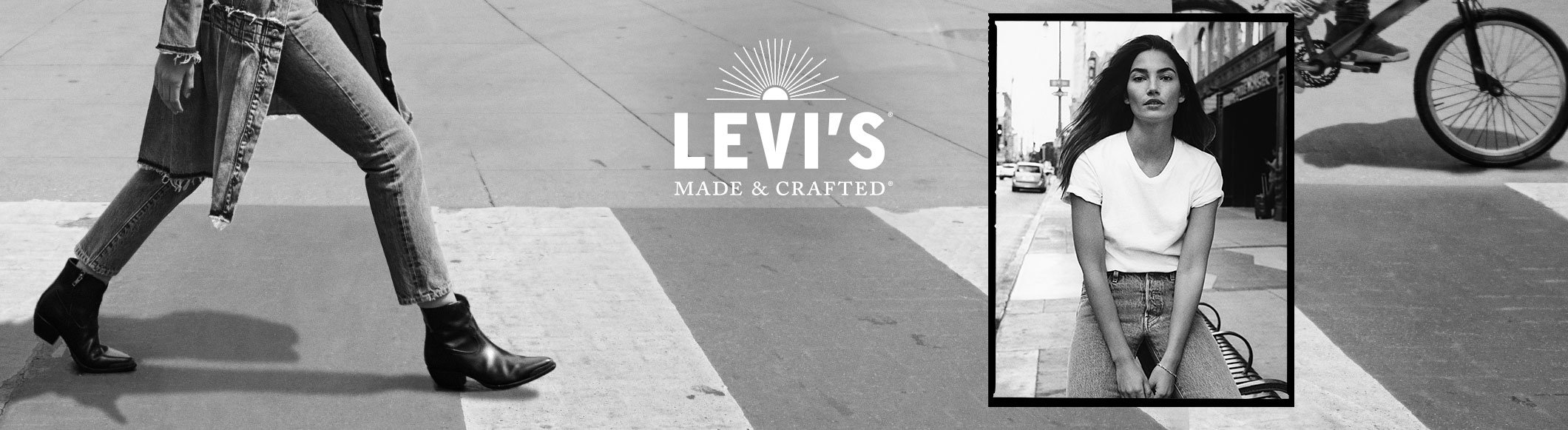 LILY ALDRIDGE FOR LEVI'S® MADE & CRAFTED®