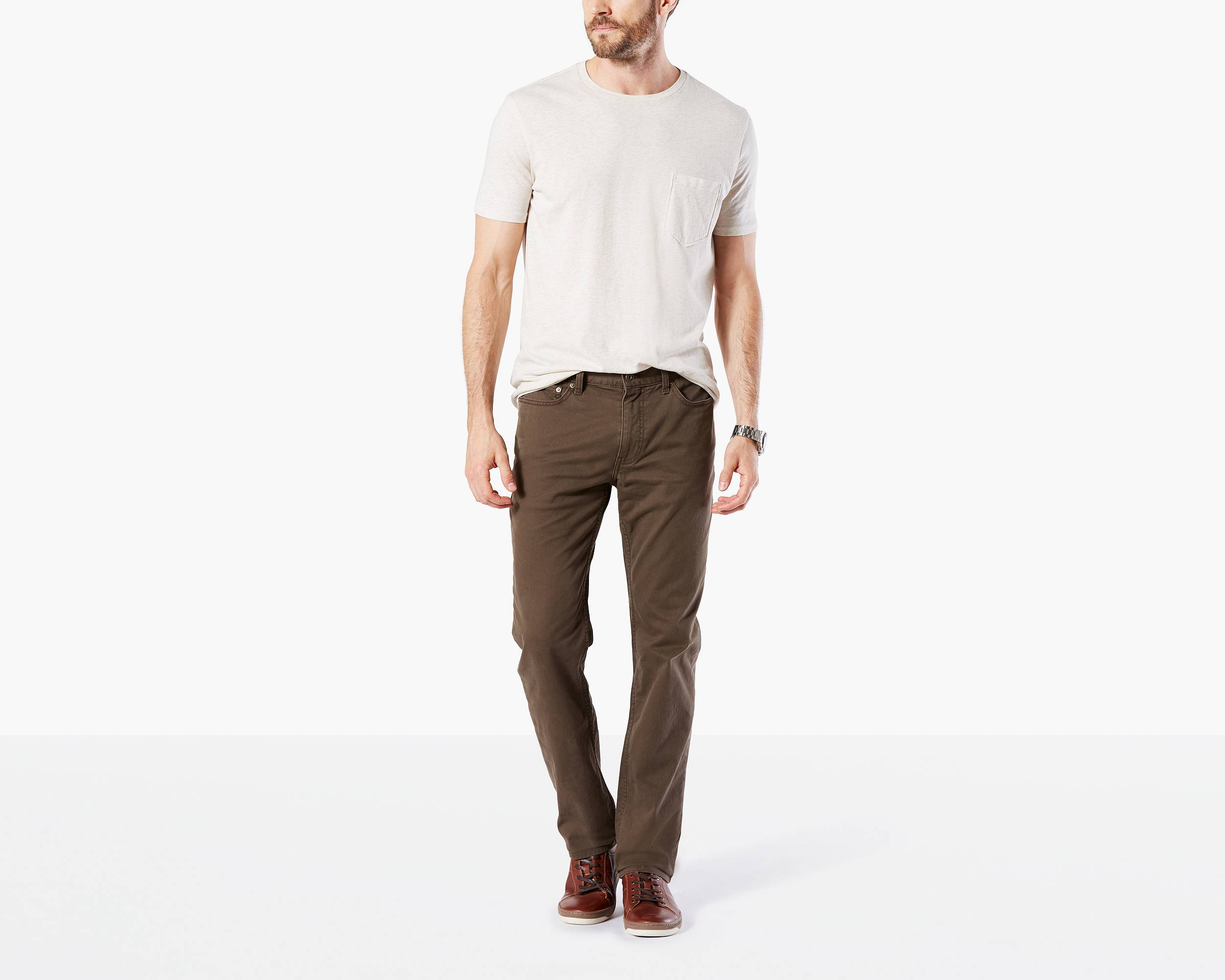 Jean Cut Pants, Slim Tapered Fit by Dockers