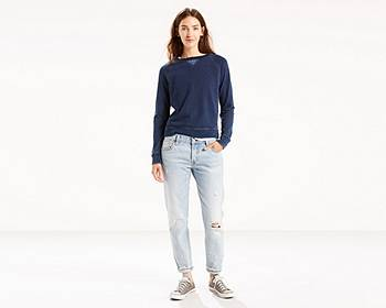 Levis Womens 501 CT Selvedge Jeans