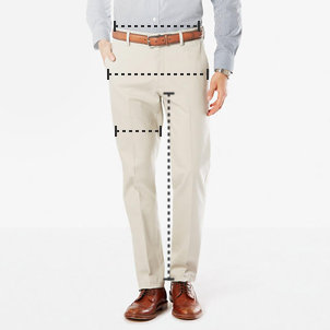 Dockers size charts and size guides for clothing dockers us